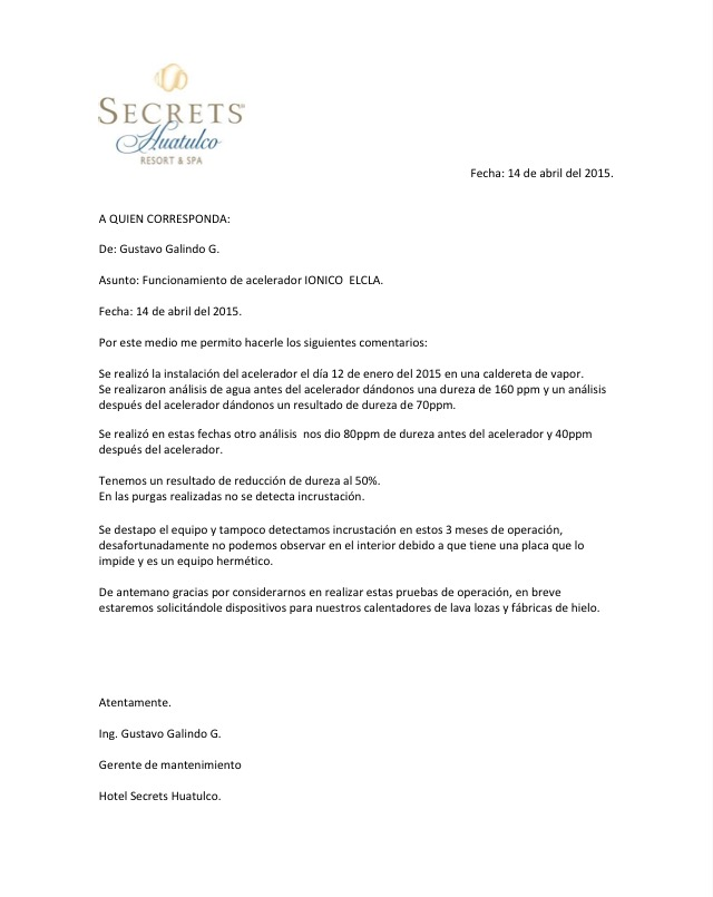CARTA SECRETS HUATULCO